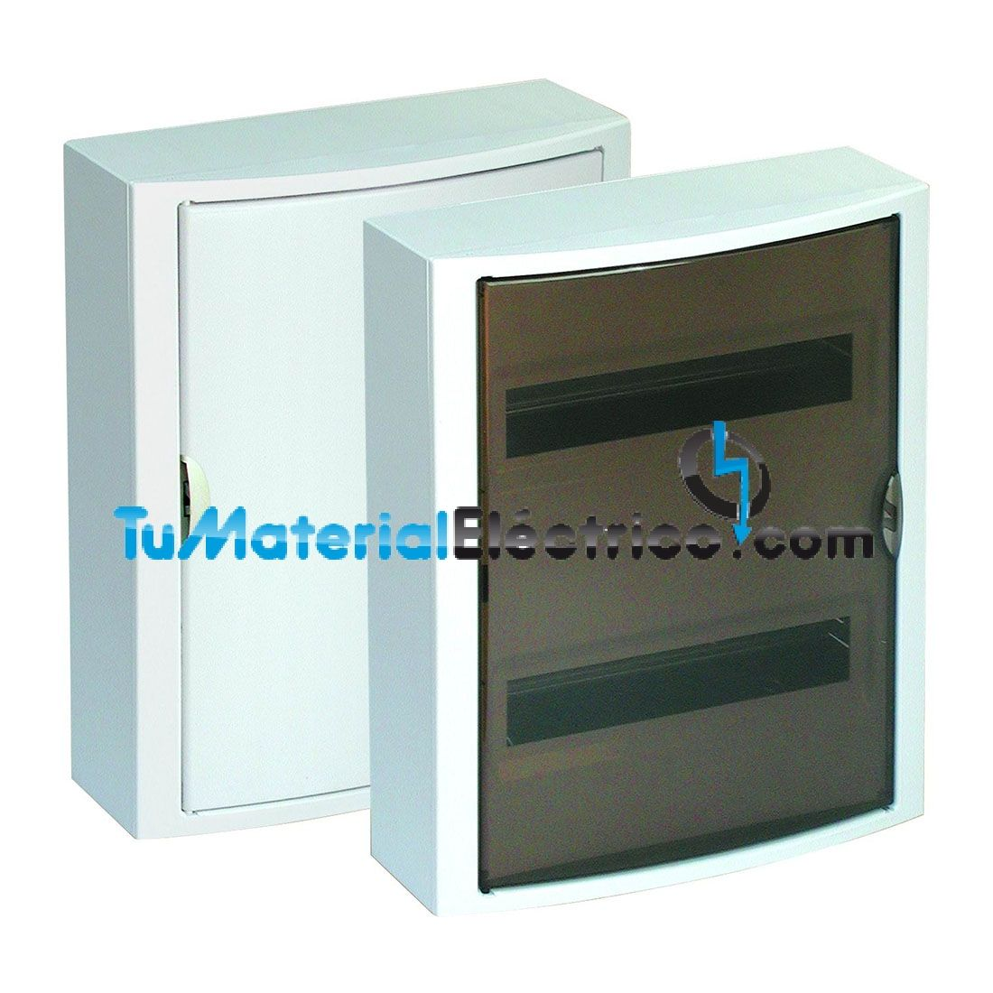 Cuadro el ctrico superficie 28 elementos solera 5281 for Cuadro electrico componentes