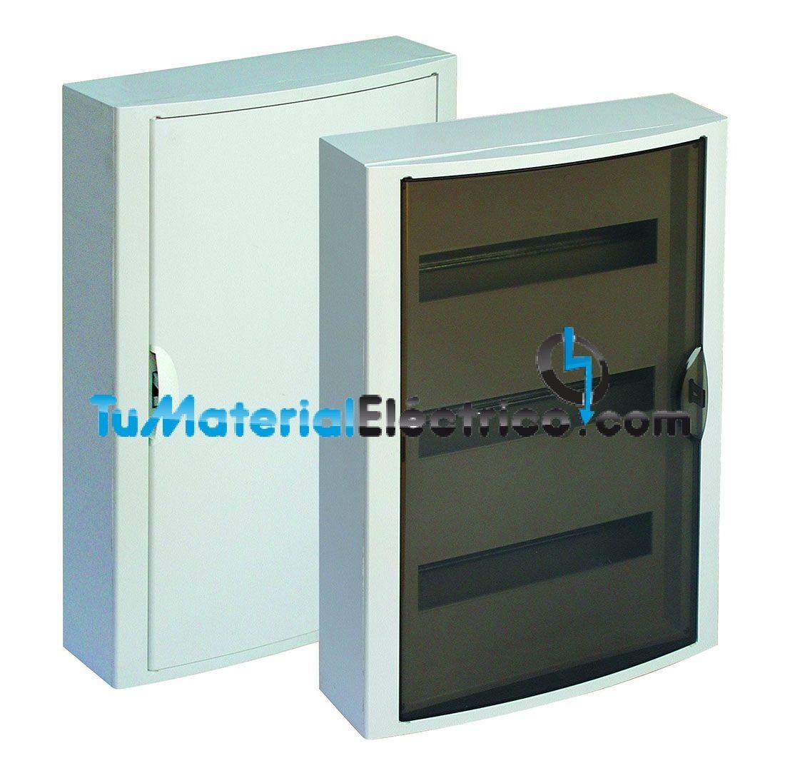 Cuadro el ctrico superficie 42 elementos solera 5261 for Cuadro electrico componentes