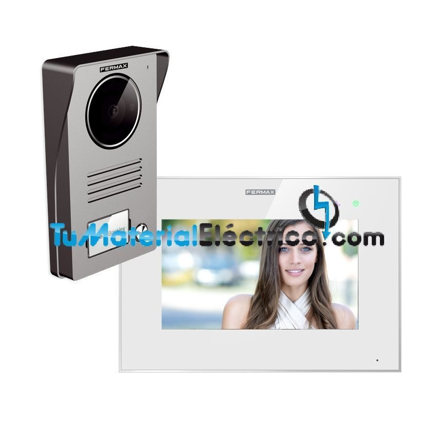 Kit Videoportero Fermax Way-FI con Monitor de 7 con conexi/ón WI-FI 1431 de Fermax