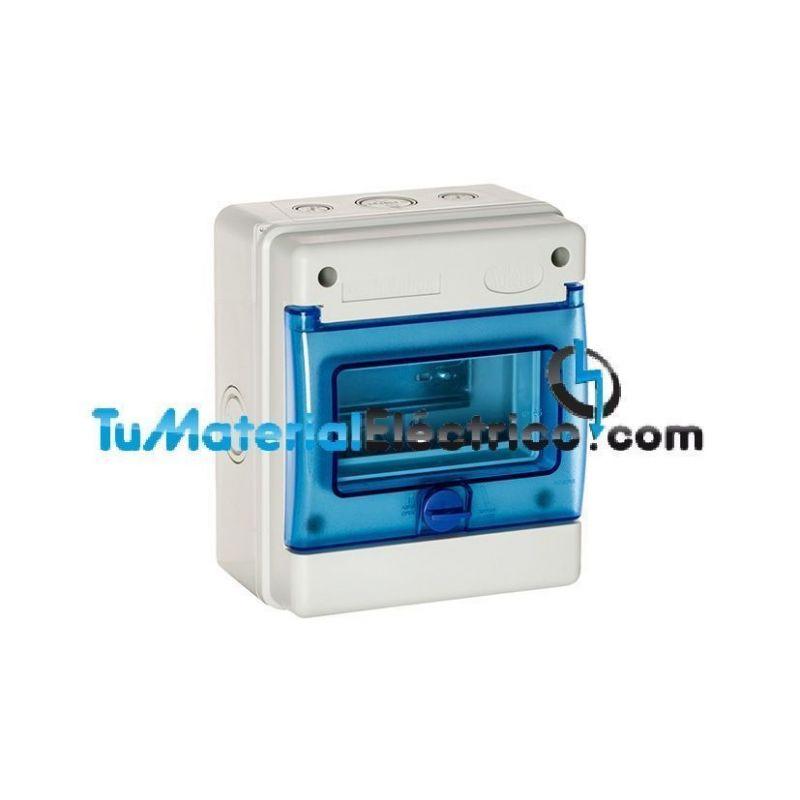 Cuadro el ctrico estanco 6 elementos solera 1306 for Cuadro electrico componentes
