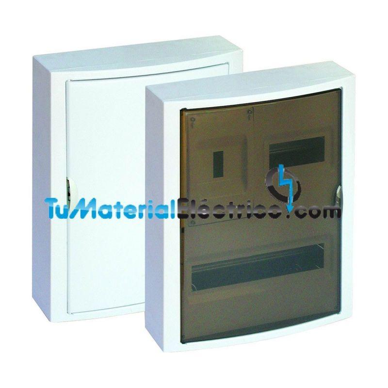 Cuadro el ctrico superficie 20 elementos icp solera 5421 for Cuadro electrico componentes