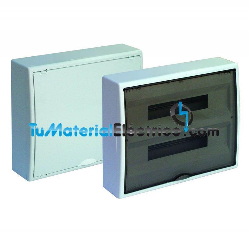 Cuadro el ctrico superficie 36 elementos solera 8216 for Cuadro electrico componentes