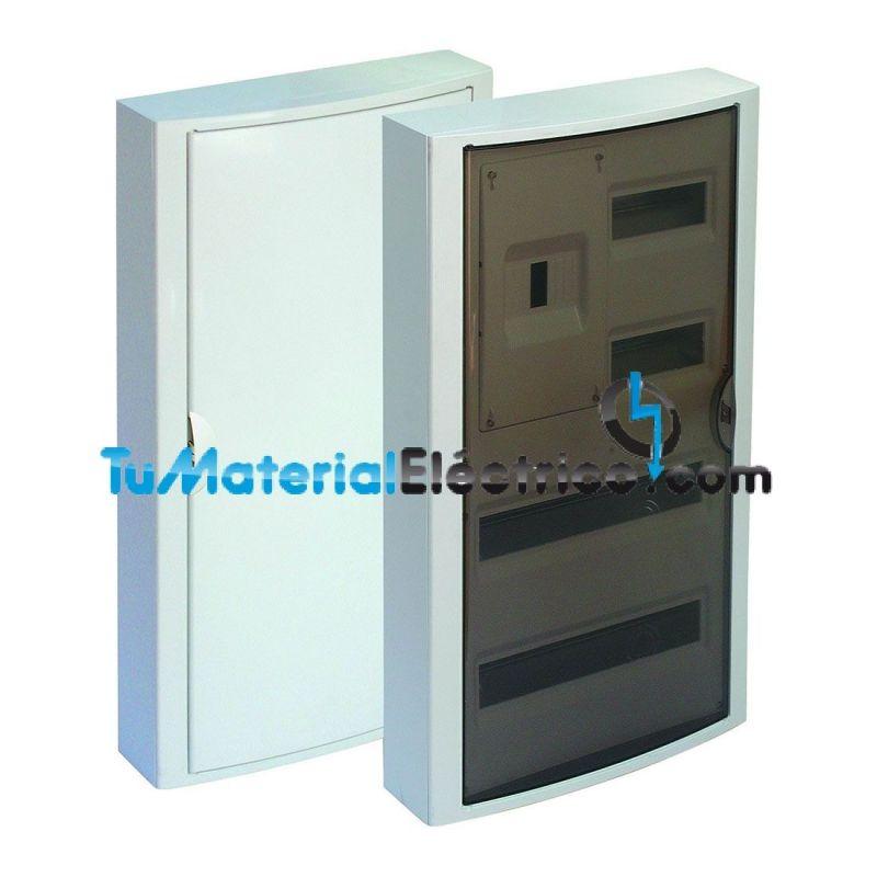 Cuadro el ctrico superficie 40 elementos icp solera 5441 for Cuadro electrico componentes