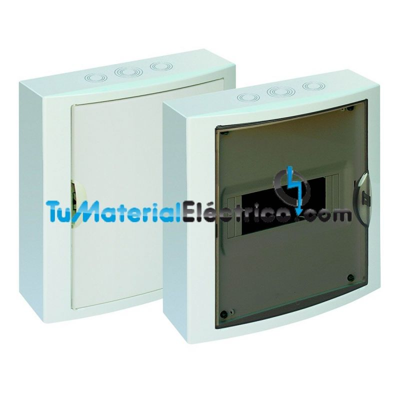 Cuadro el ctrico superficie 8 elementos solera 5109 for Cuadro electrico componentes
